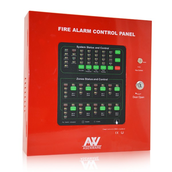 The Most Reliable Mimic Panel Fire Alarm System With 32