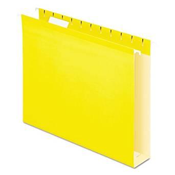 PFX4152X2YEL - Pendaflex Colored Box Bottom Hanging Folder