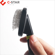 Sell well new type pet grooming shedding brush and full body pet brush and pet hair removal brush