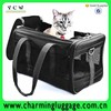 2015 china supplier fashionable black pet shopping bag/cute dog carrier bag high quality
