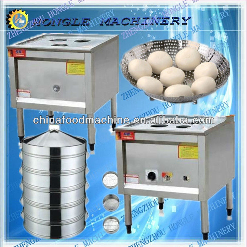 Electric and gas type steamer / dumpling steamer