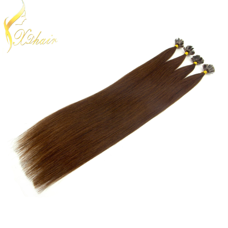 2016 UK most popular Mongolian/Russian double drawn hair extension, ,Flat tip hair extensions white hair extensions