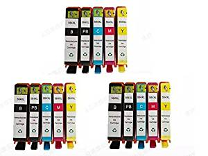 INKTONER 15pk #564XL Ink Cartridges for HP Photosmart 6515 6520 6525 e-All-in-One Series