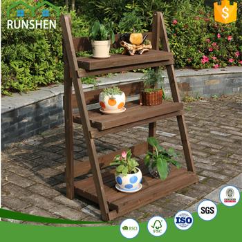 Alibaba & 3 Layer Flowerpot Rack Wooden Flowers Ladder Pot Holder - Buy Indoor Flower Pot HolderWooden Flower Pot HolderWood K-cup Holder Product on ...