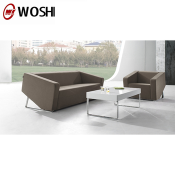 Luxury Design Office Furniture Leather Executive Office Reception Sofa Set,  View Executive Office Sofa, Woshi Product Details from Guangzhou Woshi ...