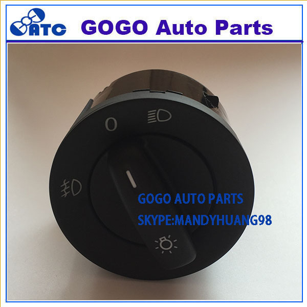 High quality auto switch Headlight Switch Lock/Unlock Switch for Golf/Jetta MK5 Passat B6 1K0 941 431 AA