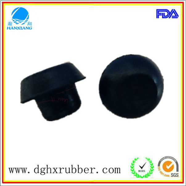 China good sealling rubber caps molded rubber plug wholesale