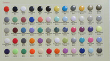 60 color DHL 6000 sets T5 Size 20 Kam Plastic Resin Snaps Buttons Snaps fasterners