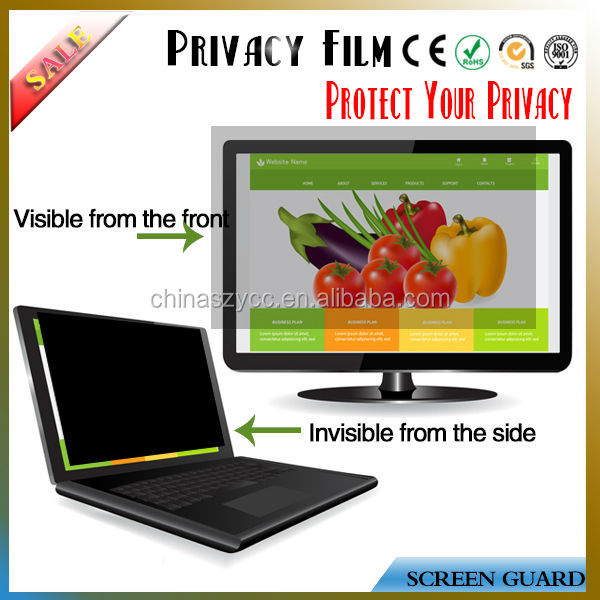 "Alibaba Express Privacy Screen Protector Film For Lcd/PC/Desktop/Laptop Screen(8'-30"")"