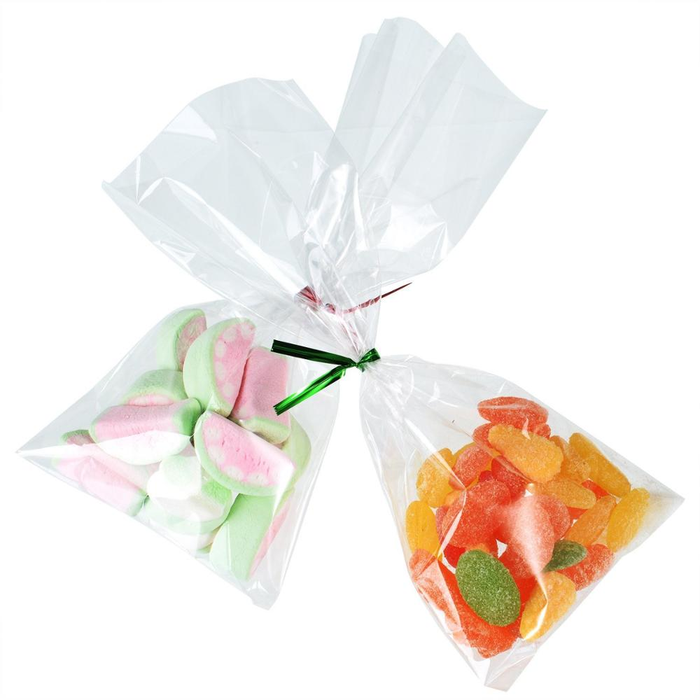 Halloween Christmas Custom Cellophane Candy Bag Clear Treat Gift ...