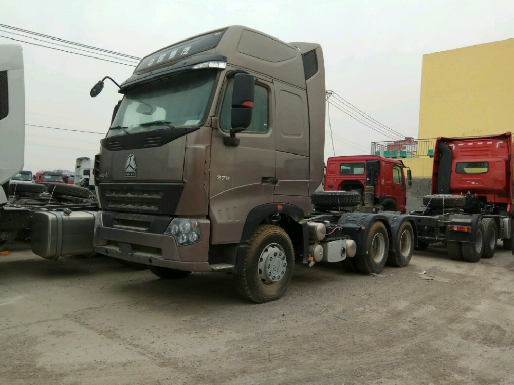Used Sinotruck Howo 6x4 Tractor Truck,Seconed Head 371hp