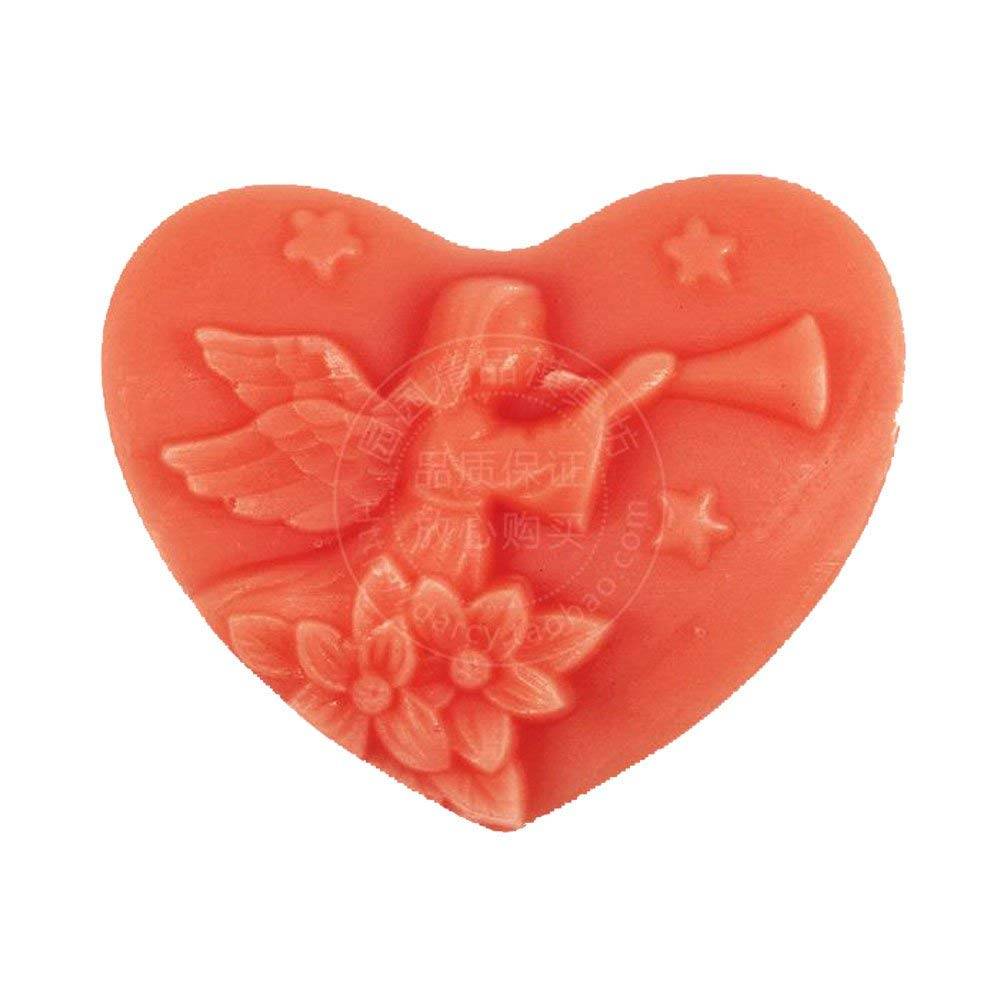 Longzang angel mould S287 Craft Art Silicone Soap mold Craft Molds DIY Handmade soap molds