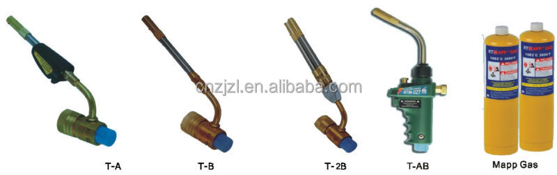 China Supplier Lead Refrigeration Tools Welding Torch (air-cooled)