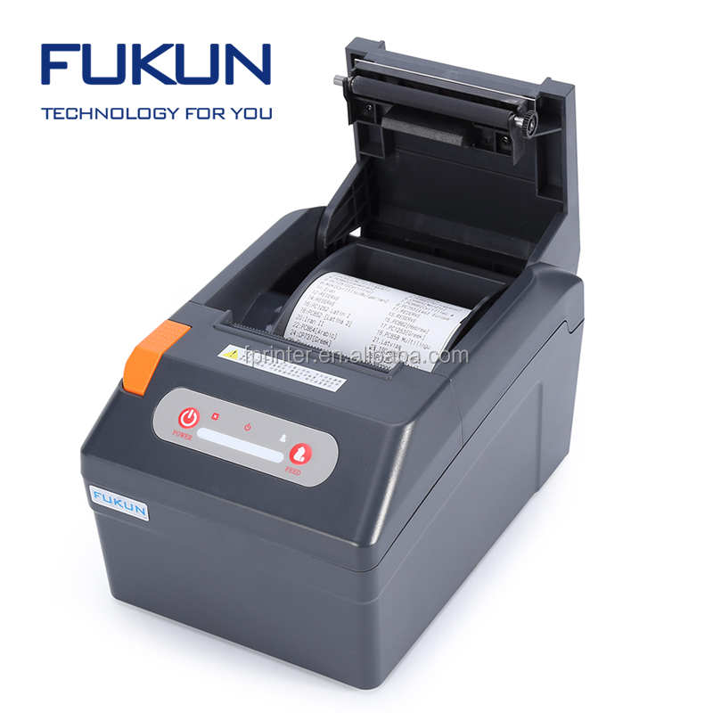 FK-POS80AT pos direct thermal receipt printer serial/parallel/earthernet surface