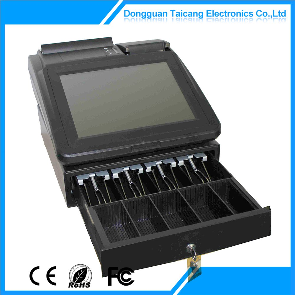 Useful promotional 12 inch pos cash drawer/cashbox/money drawer