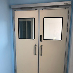 automatic swing door system