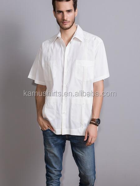 04628ddb2e Blanco Lino Guayabera Camisas Para Hombre Camisas - Buy Lino ...