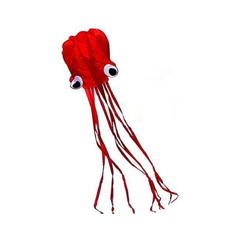 New best selling Chinese 4m octopus kite for kids with kite flying thread