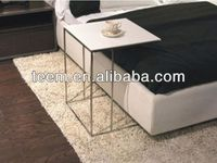 2014 Divany modern white leather coffee table coffee table with stools T-68
