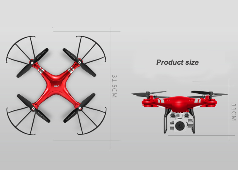 2018 trending products 1080P wide angle & Real-time transmission camera drone