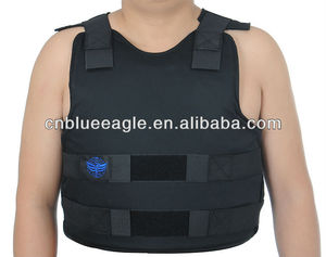 sample order accept full protection NIJ IIIA flexible bulletproof jacket full body armor for sale