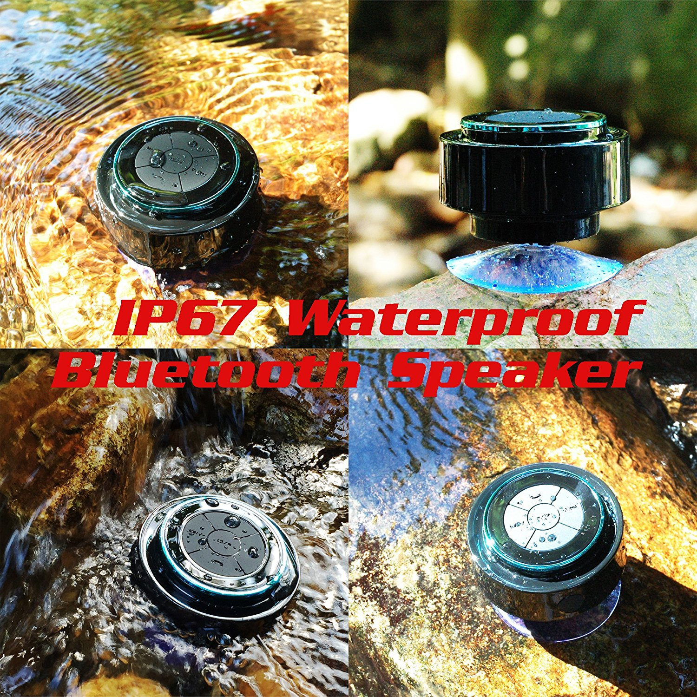 2019 new product waterproof shower speaker bluetooth handsfree calling