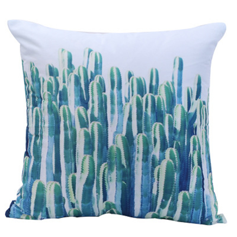Tropical Plant Hug Pillowcase Car Home Sofa Decoration Cushion Covers