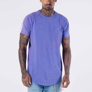 Mens clothing manufacturer 2018 New arrival custom long line t shirt