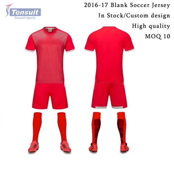 c7ad50e20 soccer training equipment blank soccer jersey set personal custom classic  sublimation football uniform good print soccer