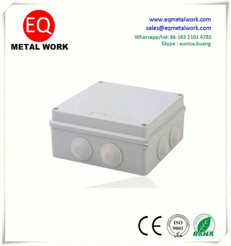 Tranparent plastic junction boxes non metallic electrical junction box