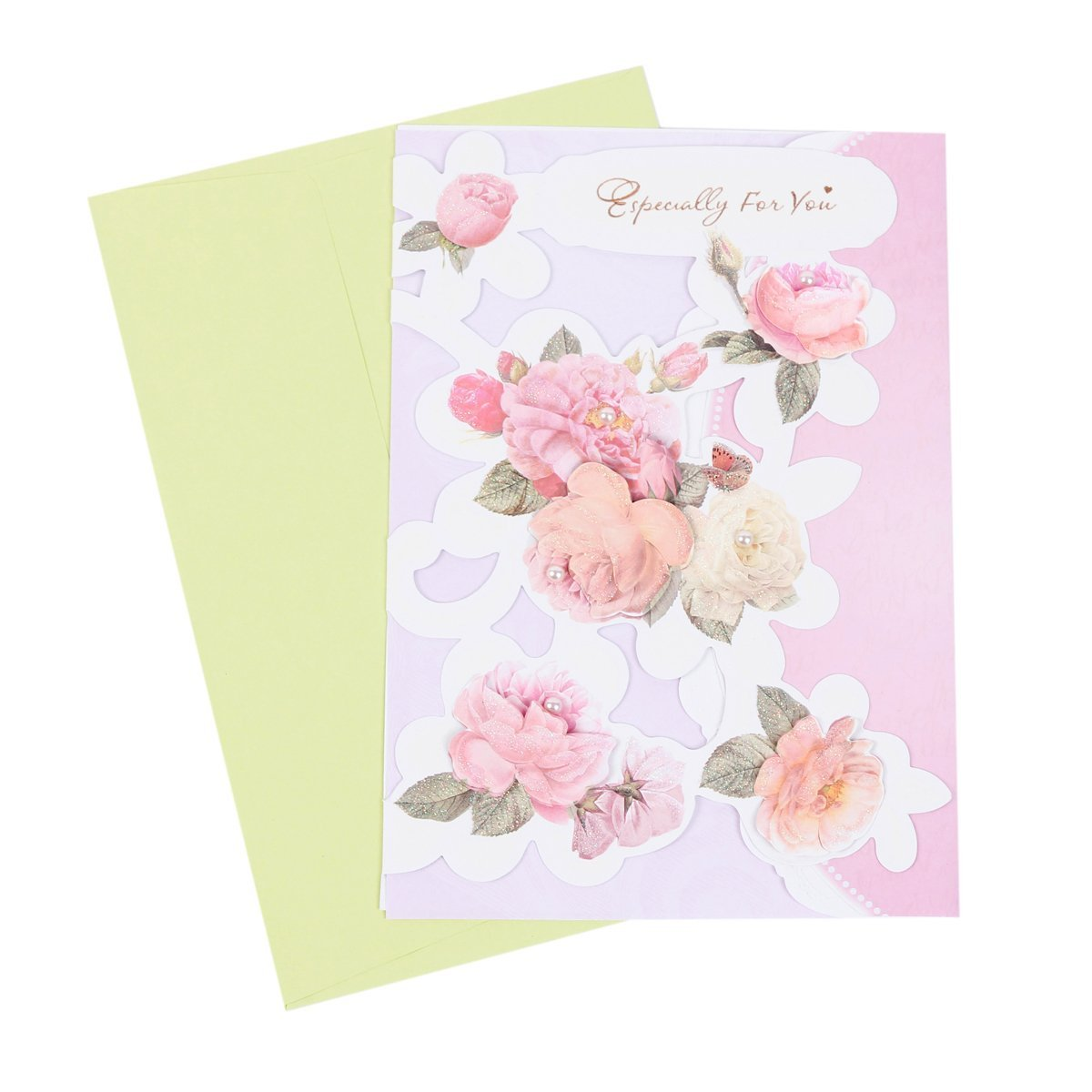Cheap fresh flower greeting cards find fresh flower greeting cards get quotations damara flower holiday birthday greeting cards 6 cards envelopes izmirmasajfo Images