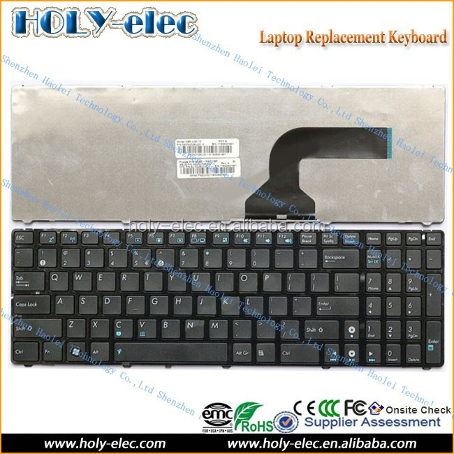 for ASUS G51 G53 G53S G60 G72 G73 K52 K53 N61 N61JV laptop keyboard backlit EU