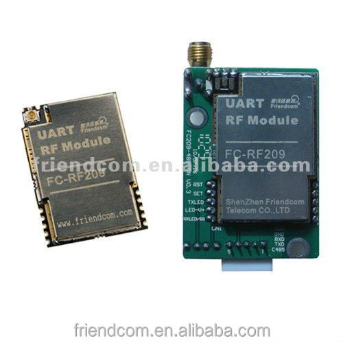 RF data transmitter and receiver module with UART 433/868/915