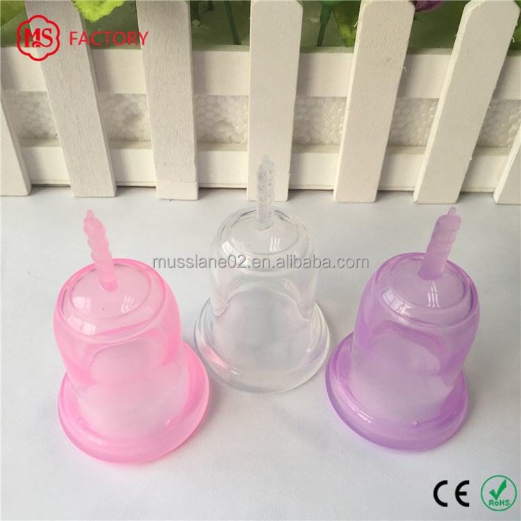 wholesale silicone menstrual cup soft diva cup