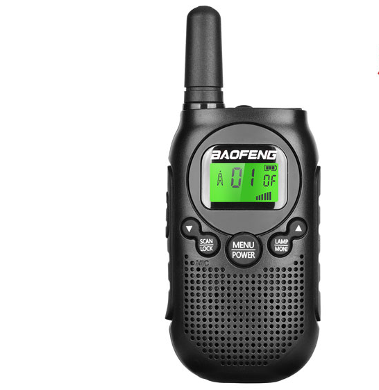 BAOFENG BF-T6 Radio Bidirectionnelle Enfant Talkie-walkie 22 FRS/SRMG/PMR Radio