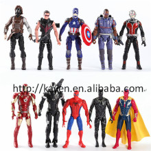 USA Hot Movie Captain America Civil War action figures
