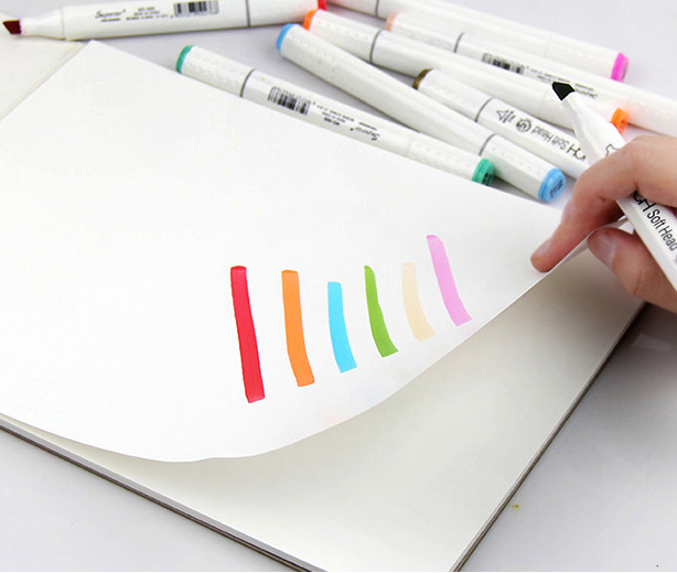 High quality paper pad for marker pen sketching and painting