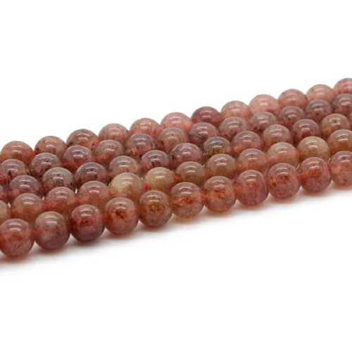 Fashion natural Strawberry Crystal gems stone semi-precious stone beads for jewelry accessories ,4mm - 14mm available ,GB041