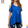 2017 Korean Fashion Sexy V neck t shirts Blank Cotton t shirt
