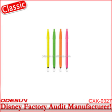Disney Universal FAMA BSCI Carrefour Factory Audit Manufacturer Selling Promotional Wooden Ball Point Pen Names