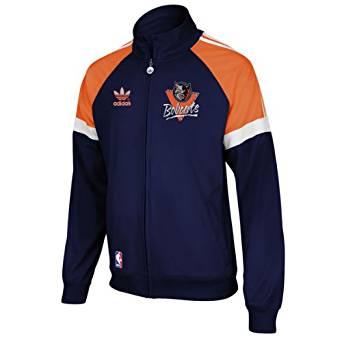Adidas Charlotte Bobcats Vintage Warm Up Track Jacket - size S