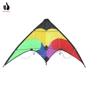 Dual Line 1.2m Small delta sport dual line stunt kite for sale
