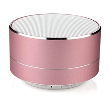 Baixo som mini bluetooth speaker music player com função FM