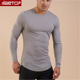New model wholesale casual dri fit 100% polyester sport dry fit t shirts for men