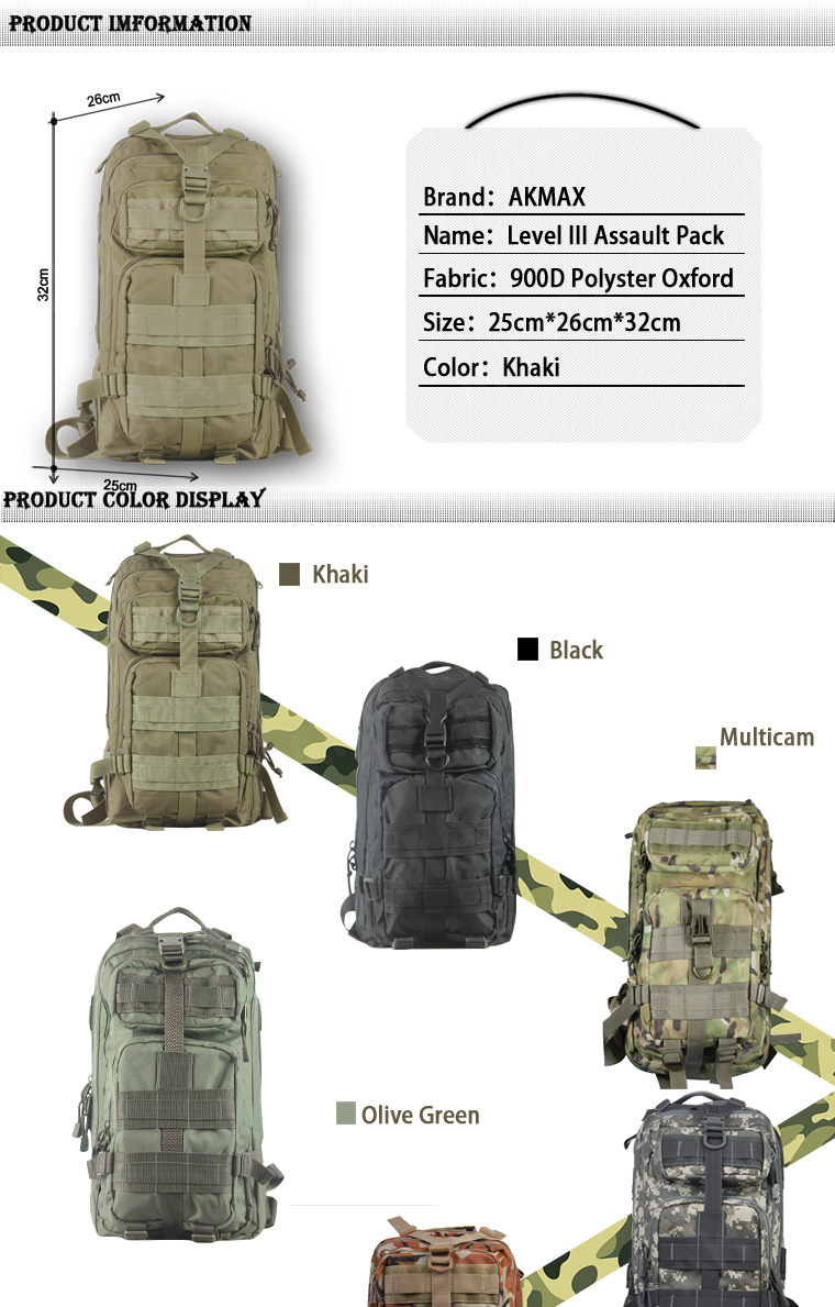 U.s Army Classic Military Issue 3p Backpack Excellent Useful Of ...