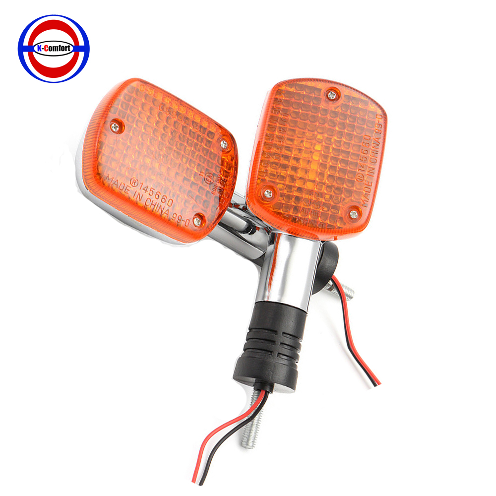 Motorcycle Turn Signals Blinker Light For Honda Shadow VTX Steed Rebel Magna 250 400 750