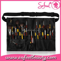 29pcs High Grade Goat Hair Oem Quality Synthetic Makeup Brush Set with Belt Pouch
