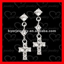 Large Sterling Silver Cross Earrings Supplieranufacturers At Alibaba