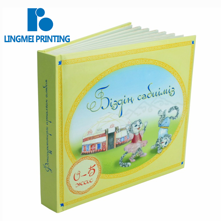 China printing factory perfect binding cheap children english learning story book