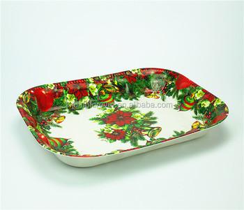 Christmas deep shape plastic promotion gift rectangular disposable plates  sc 1 st  Alibaba & Christmas Deep Shape Plastic Promotion Gift Rectangular Disposable ...
